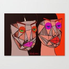 different moods Canvas Print