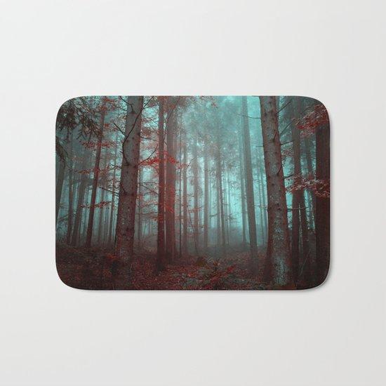 Mysterious Forest Bath Mat