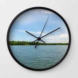 Lake Itasca - Minnesota, USA 11 Wall Clock