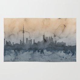 Toronto Canada Skyline Rug
