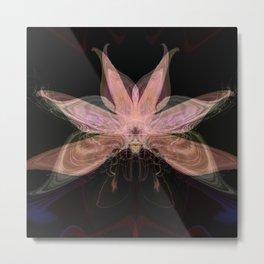 Ethereal Flower Metal Print