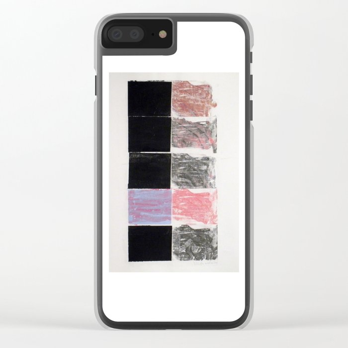 HAND Clear iPhone Case