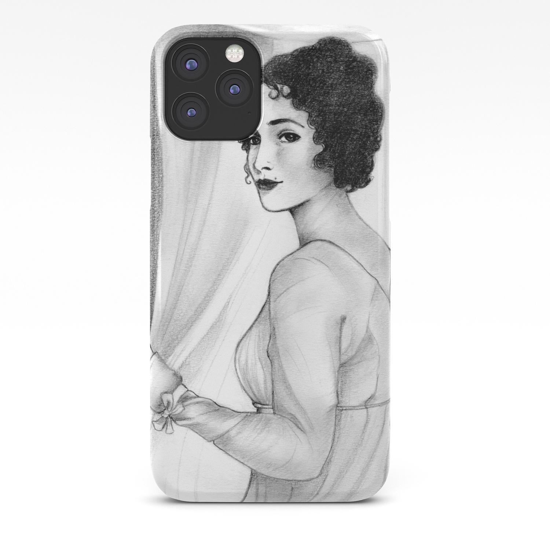 reputable site 5ccfb ad227 Elizabeth Bennet iPhone Case