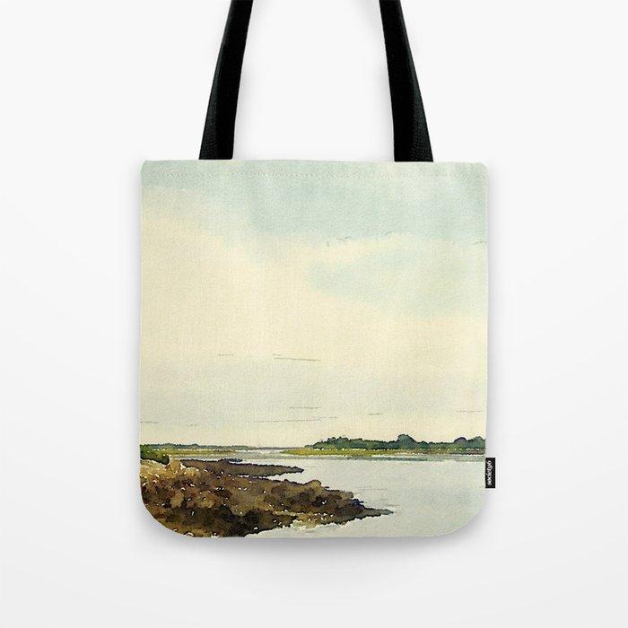 Cape Porpoise, Maine Tote Bag