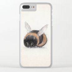 little bumble bee Clear iPhone Case