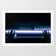 glow me. Art Print