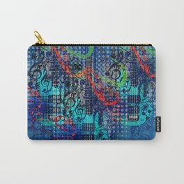 Modern guitar grunge Carry-All Pouch