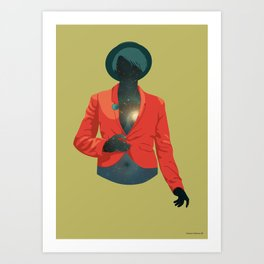 One body - one universe Art Print