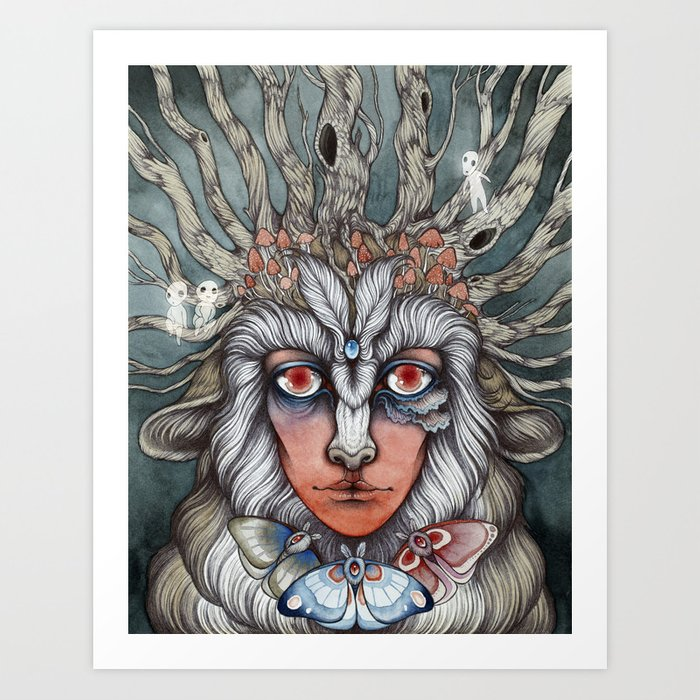 Spirit of the Forest Art Print
