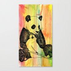 Panda Trip Canvas Print