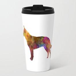 Australian Cattle Dog in watercolor Travel Mug