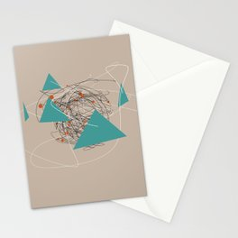 squiggles 4 Stationery Cards