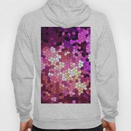Purple rhapsody stained glas Hoody