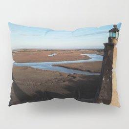 Old Baldy Lighthouse on Bald Head Island North Carolina Pillow Sham