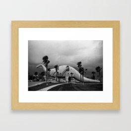 Dinosaur Park - Prehistoric California Framed Art Print