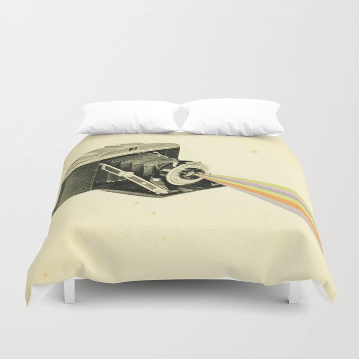 It's a Colourful World Duvet Cover