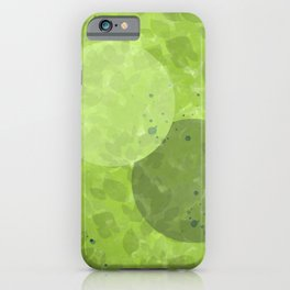 Just Breathe   Green Foliage iPhone Case