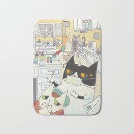 Dentist Caticorn Bath Mat