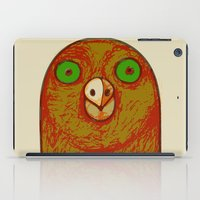 pigeon iPad Cases featuring Pigeon by RifKhas