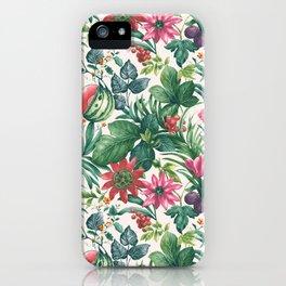 Garden pattern I iPhone Case
