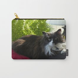 The Feline Queen Reposes (Gracie Queen of Chicago Collection) Carry-All Pouch