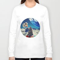 christmas tree Long Sleeve T-shirts featuring Christmas Tree by Cs025