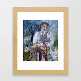 She Leopard Framed Art Print