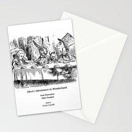 "John Tenniel, "" Alice's Adventures in Wonderland "" Stationery Cards"
