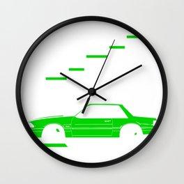 Step it up a notch Wall Clock