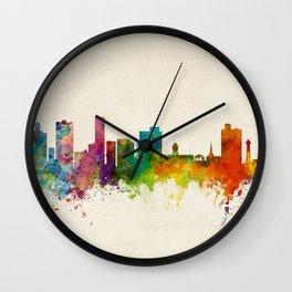 Port Elizabeth South Africa Skyline Wall Clock