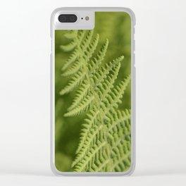 Jane's Garden - Fern Fronds Clear iPhone Case