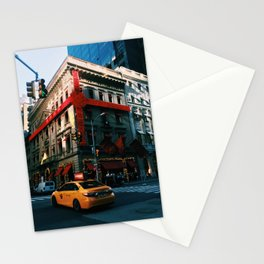 Xmas in New York City Stationery Cards