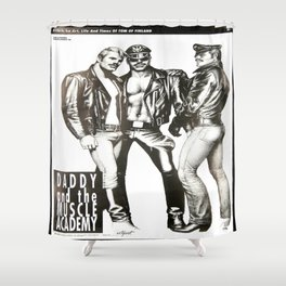Tom of Finland - Daddy and the Muscle Academy Shower Curtain