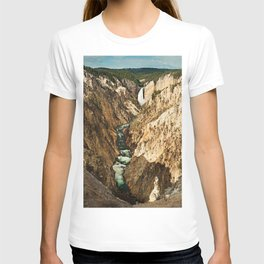 Lower Falls color T-shirt