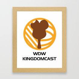 WDW Kingdomcast - Classic logo Framed Art Print