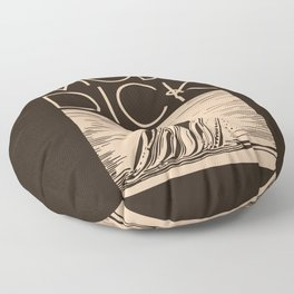 Moby Dick Floor Pillow