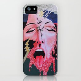 She's a Bit Touched iPhone Case