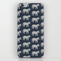 unicorns iPhone & iPod Skins featuring Unicorns  by Katelyn Patton
