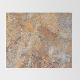 Granite and Quartz texture Throw Blanket