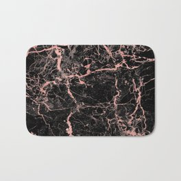 Marble Rose Gold - Someone Bath Mat