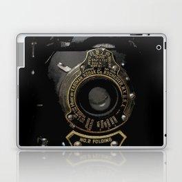 VINTAGE AUTOGRAPHIC BROWNIE FOLDING CAMERA Laptop & iPad Skin