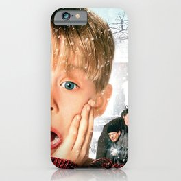 home alone white christmas 2020 iPhone Case