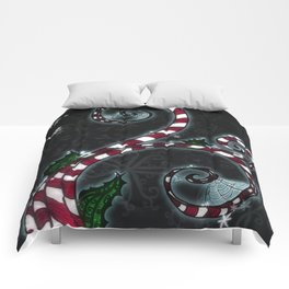 Candy Cane Vine Comforters