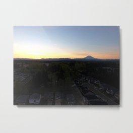 A Northwest Sunrise Metal Print