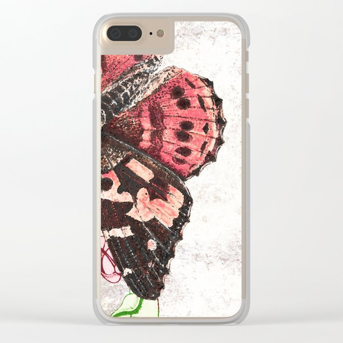 Treading lightly Clear iPhone Case