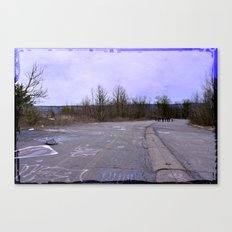 Life was a Highway Canvas Print
