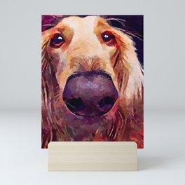 Saluki 3 Mini Art Print