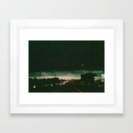 Houston, Texas Framed Art Print