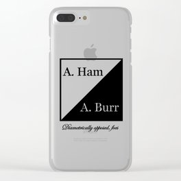 Diametrically Opposed, Foes Clear iPhone Case