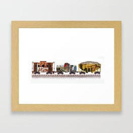 Rusted, Busted - II Framed Art Print